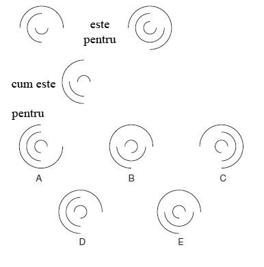 Test de abilitati in spatiu<br /> Citeste cu atentie instructiunile si studiaza cu atentie diagramele.<br />